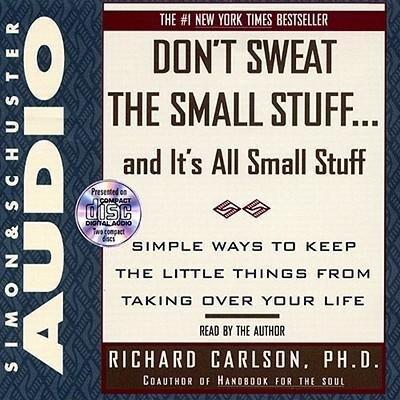 Dont Sweat Small Stuff als Hörbuch