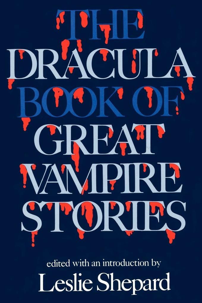 Dracula Book of Great Vampires als Taschenbuch