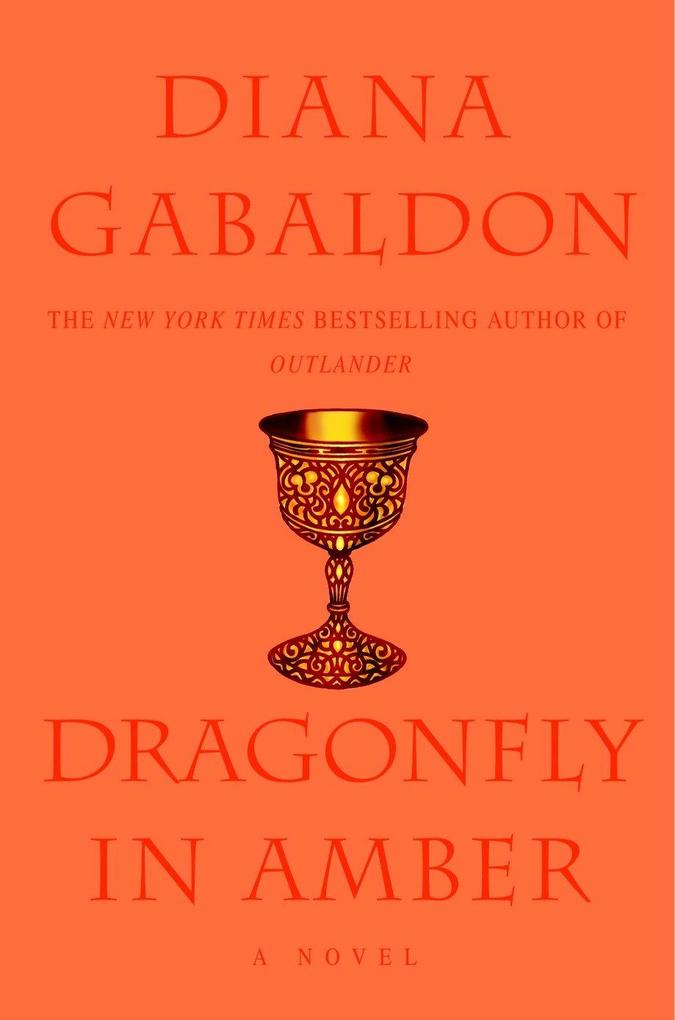 Dragonfly in Amber als Buch