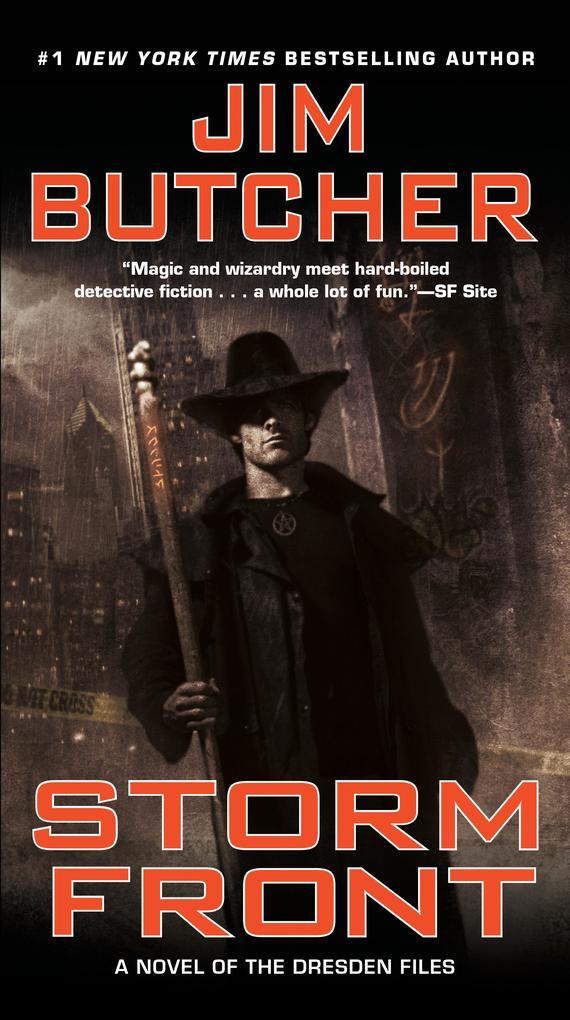 The Dresden Files 01. Storm Front als Taschenbuch