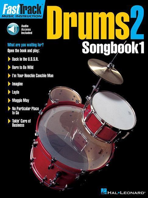 Fasttrack Drums Songbook 1 - Level 2 als Taschenbuch