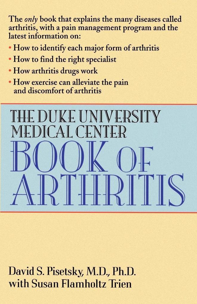 The Duke University Medical Center Book of Arthritis als Taschenbuch