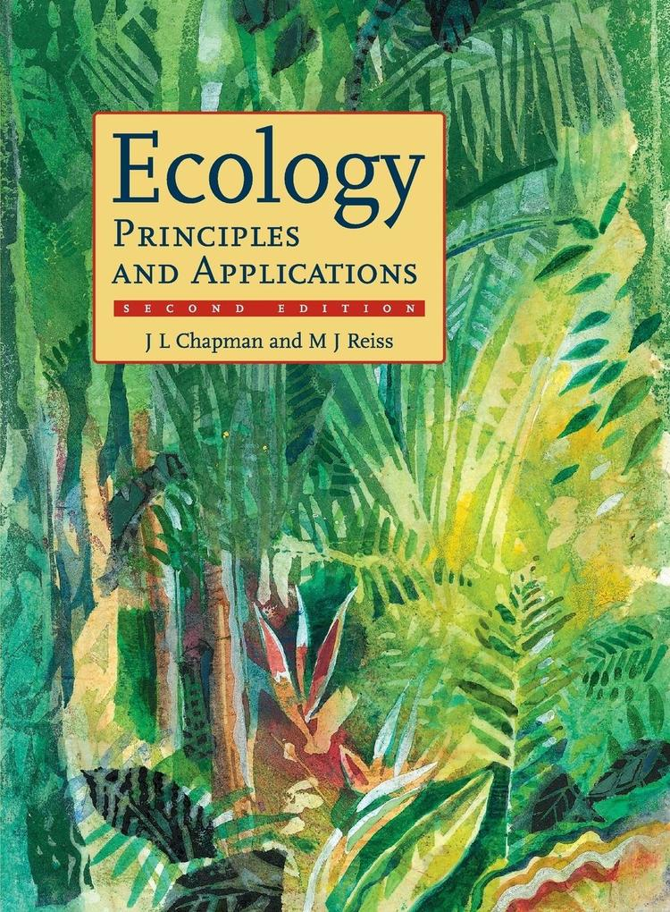 Ecology als Buch