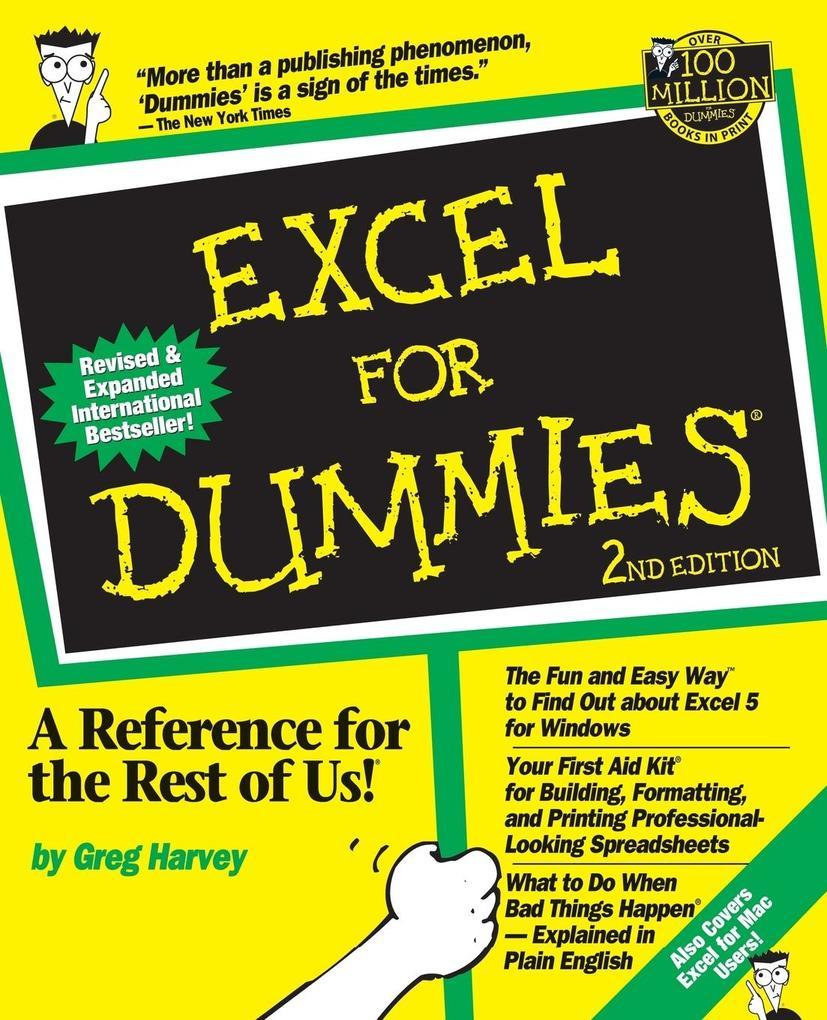 Excel For Dummies als Buch