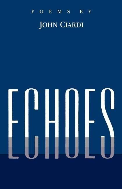 Echoes: Poems Left Behind (P) als Taschenbuch