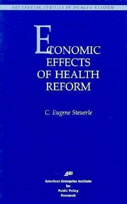 Economic Effects of Health Care Reform als Taschenbuch