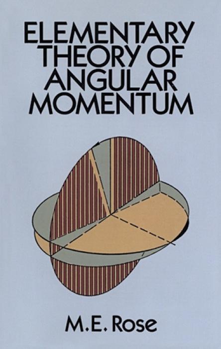 Elementary Theory of Angular Momentum als Taschenbuch