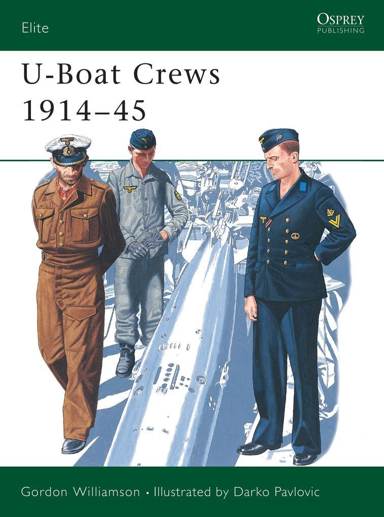 German U-Boat Crews, 1914-45 als Taschenbuch