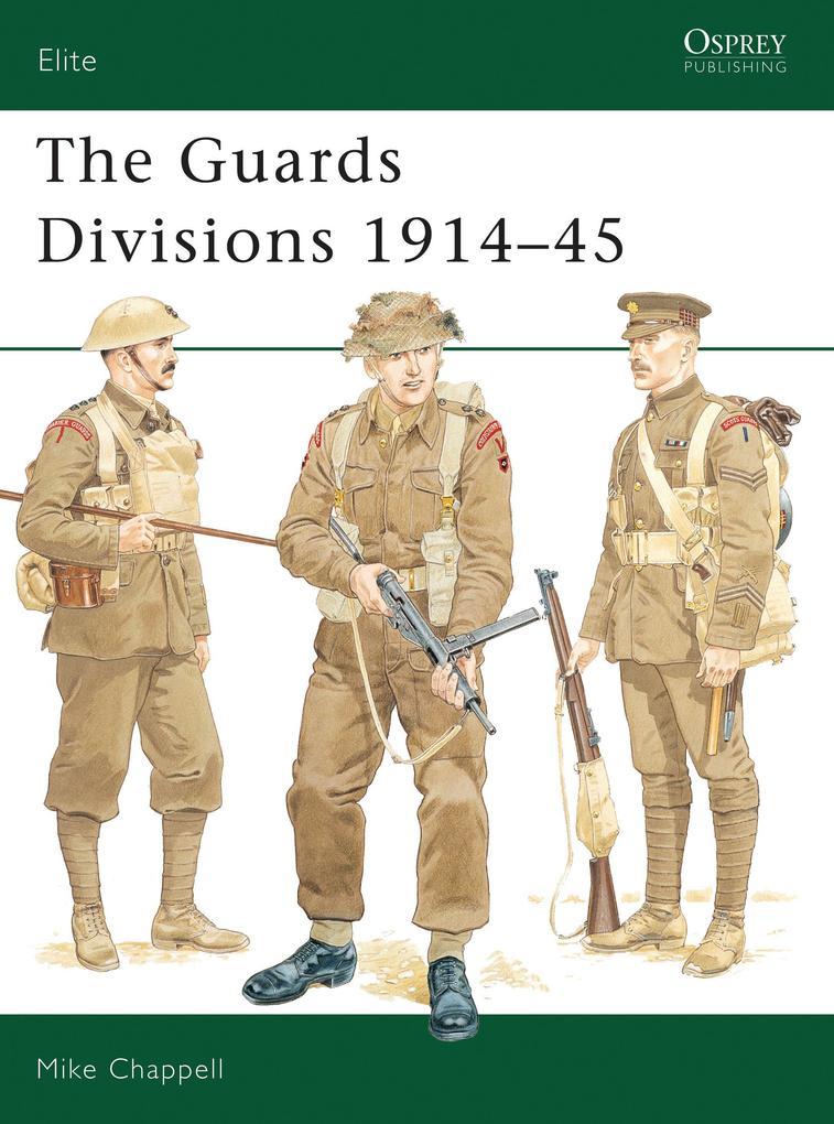 Guards Divisions, 1914-45 als Taschenbuch