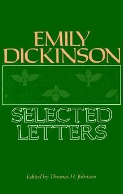 Emily Dickinson: Selected Letters als Taschenbuch
