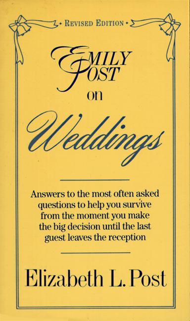 Emily Post on Weddings: Revised Edition als Taschenbuch