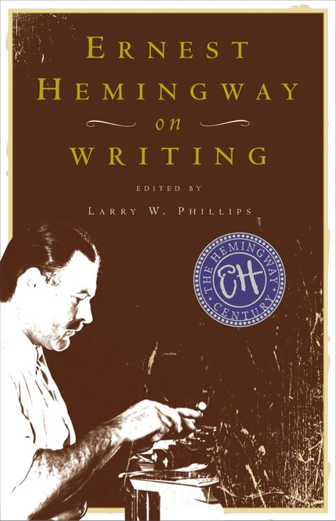 Ernest Hemingway on Writing als Taschenbuch