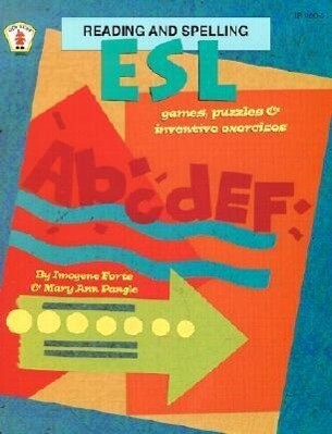 ESL Reading and Spelling Games, Puzzles, and Inventive Exercises als Taschenbuch