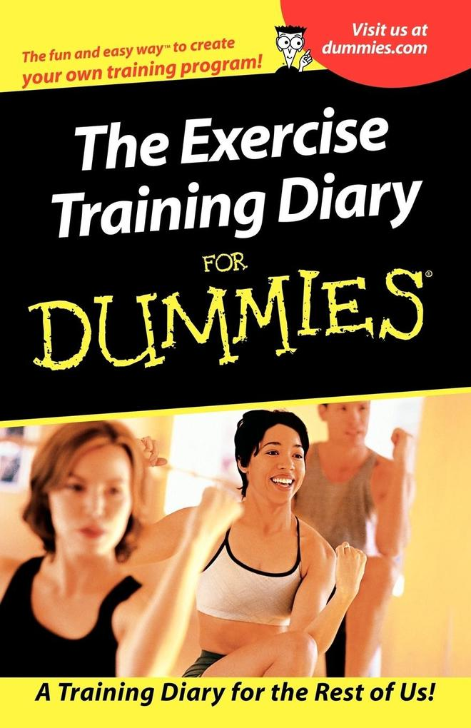 The Exercise Training Diary for Dummies als Taschenbuch
