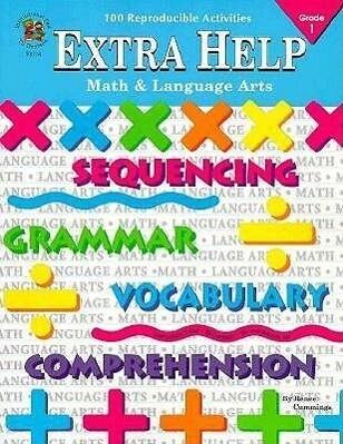 Extra Help Math & Language Arts: Grade 1 als Taschenbuch