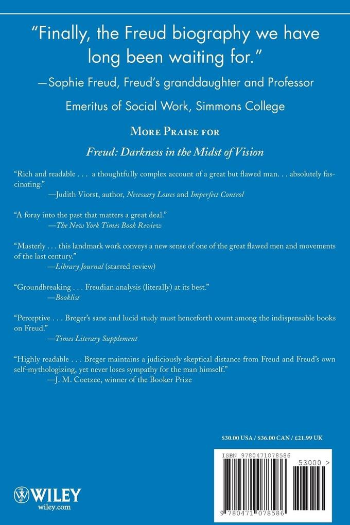 Freud: Darkness in the Midst of Vision als Buch
