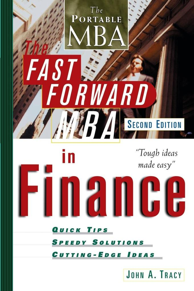 The Fast Forward MBA in Finance als Buch