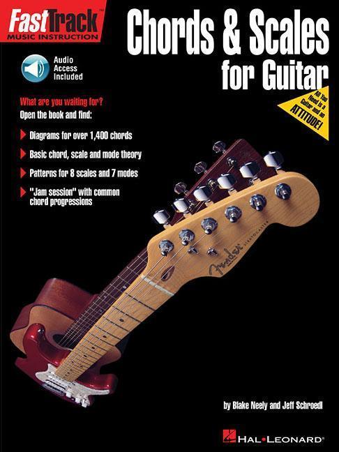 Fasttrack Guitar Method - Chords & Scales als Taschenbuch