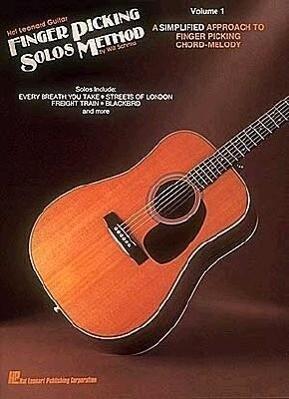 Hal Leonard Guitar Finger Picking Solos Method: Volume 1 als Taschenbuch