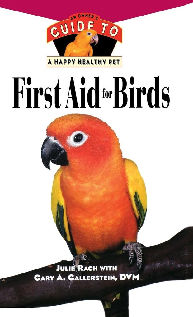 First Aid for Birds als Buch