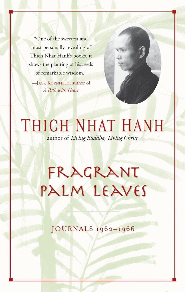 Fragrant Palm Leaves: Journals, 1962-1966 als Taschenbuch