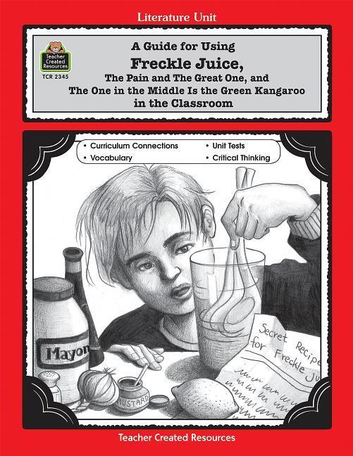 A Guide for Using Freckle Juice in the Classroom als Taschenbuch