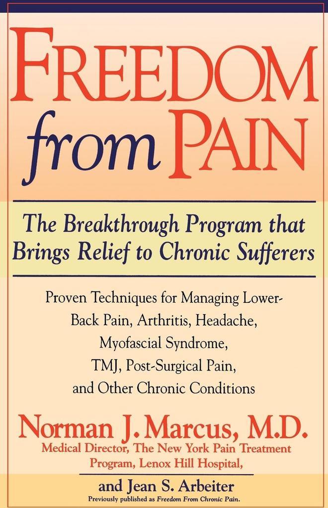 Freedom from Pain als Taschenbuch