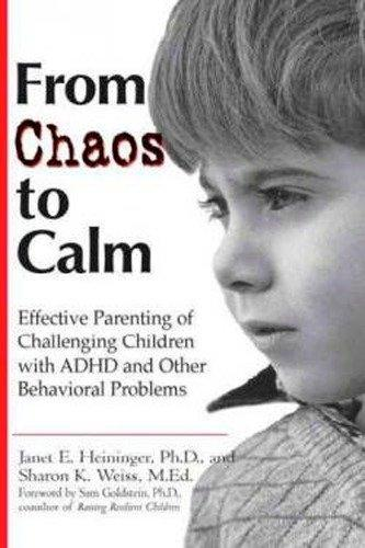 From Chaos to Calm: Effective Parenting for Challenging Children with ADHD Other Behavioral Problems als Taschenbuch