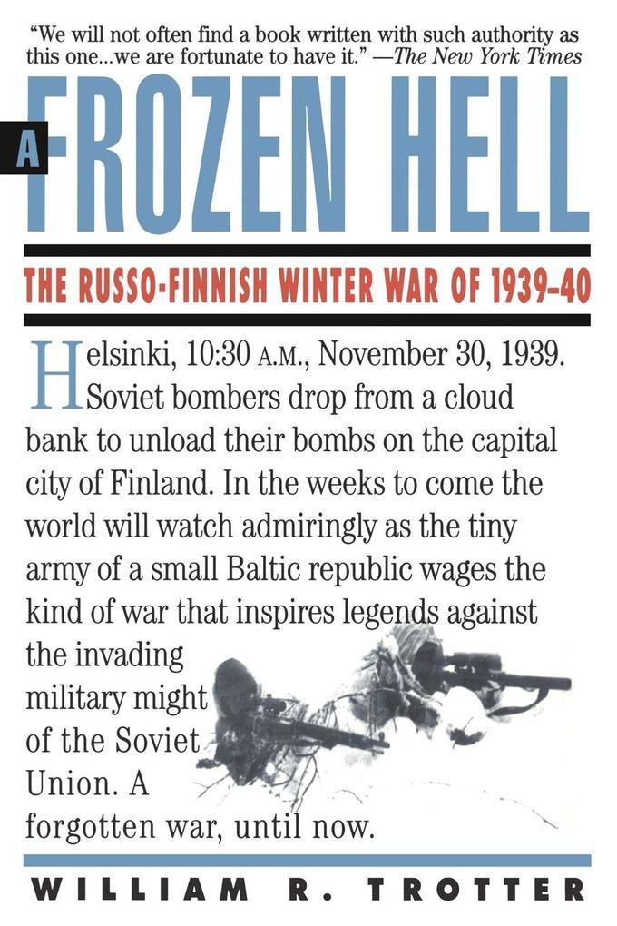 A Frozen Hell: The Russo-Finnish Winter War of 1939-1940 als Taschenbuch