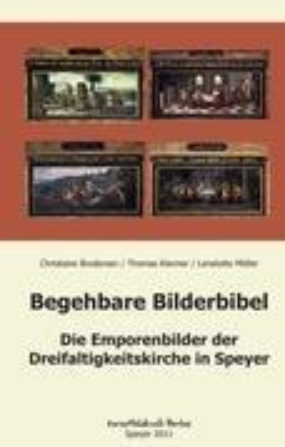 Begehbare Bilderbibel als Buch