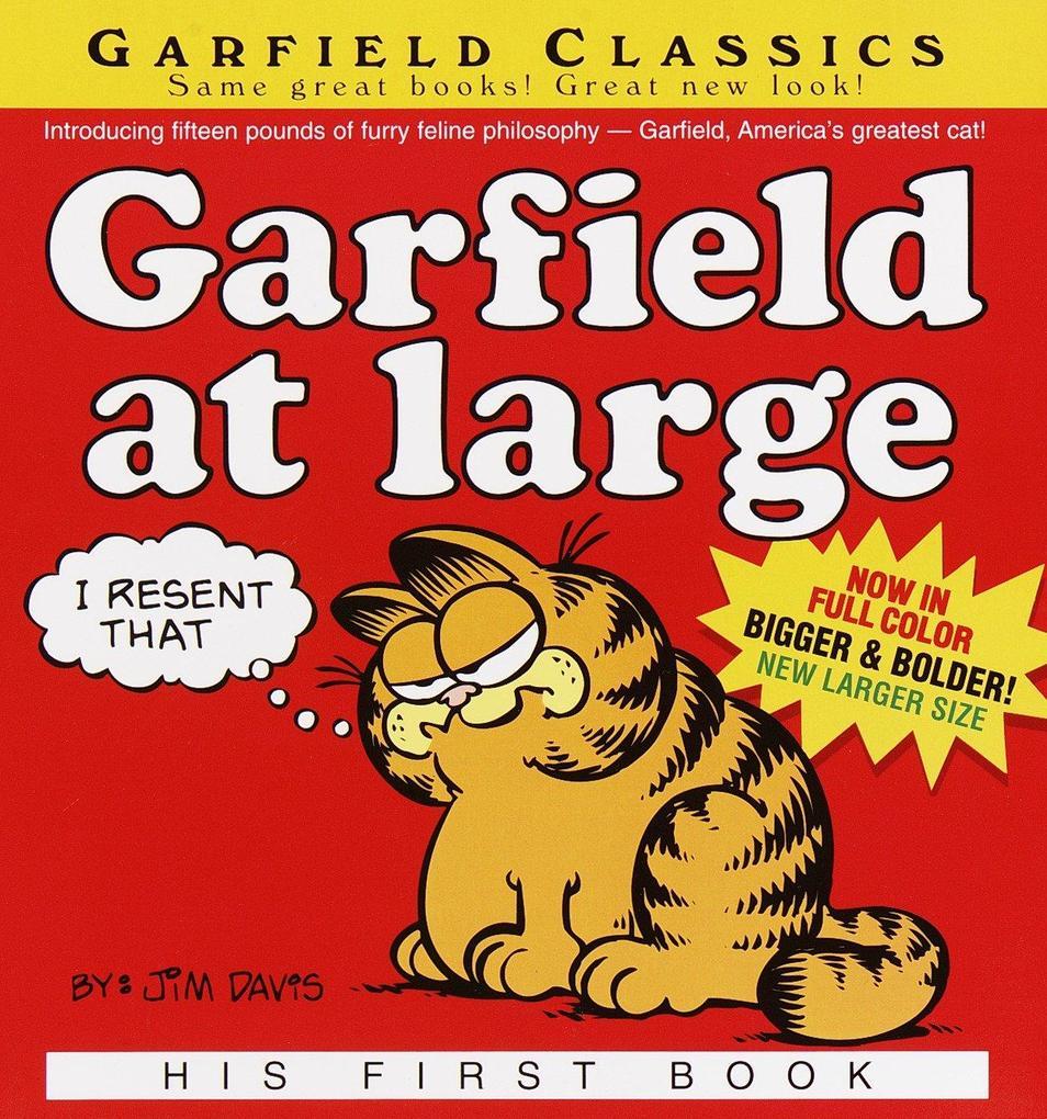 Garfield at Large als Taschenbuch