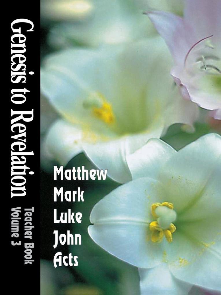 Genesis to Revelation Volume 3 als Taschenbuch