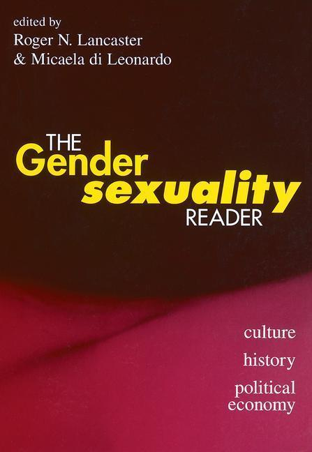The Gender/Sexuality Reader als Buch