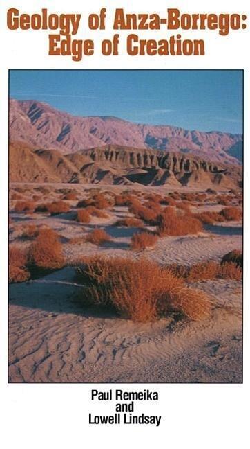 Geology of Anza-Borrego: Edge of Creation als Taschenbuch