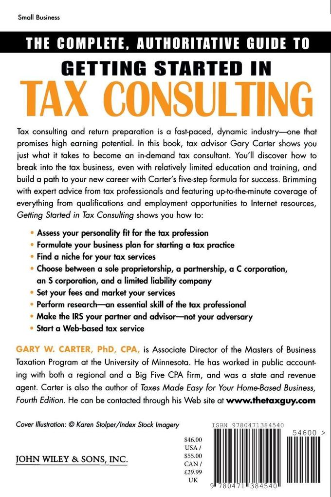 Getting Started in Tax Consulting als Taschenbuch