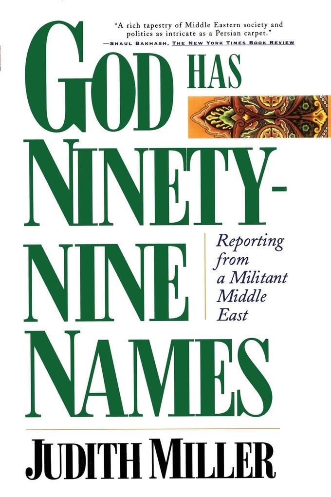 God Has Ninety-Nine Names als Taschenbuch
