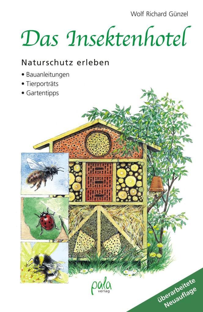 Das Insektenhotel als Buch