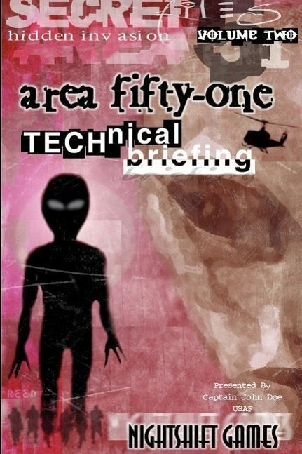 Area 51 Technical Briefing als Taschenbuch