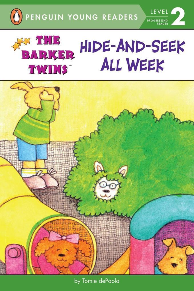 Hide-And-Seek All Week als Taschenbuch