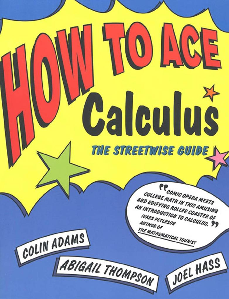 How to Ace Calculus: The Streetwise Guide als Taschenbuch