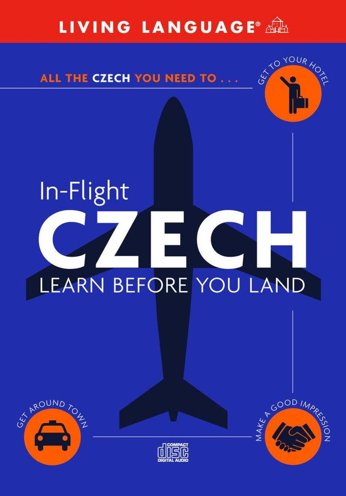 In-Flight Czech: Learn Before You Land als Hörbuch