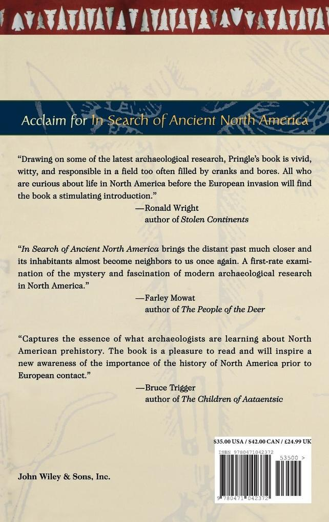 In Search of Ancient North America: An Archaeological Journey to Forgotten Cultures als Buch