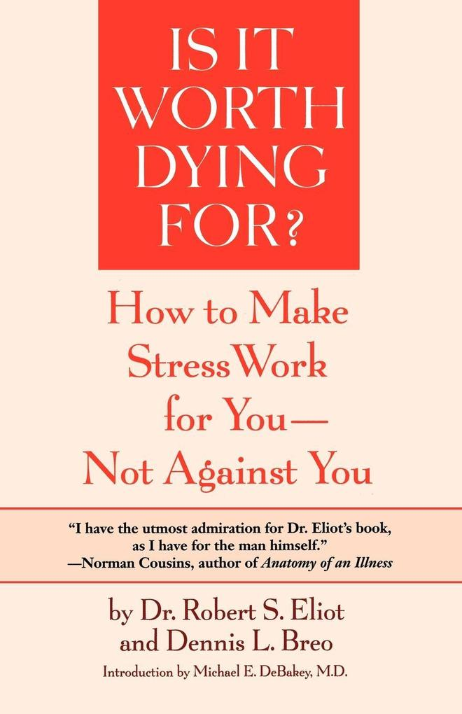 Is It Worth Dying For? als Taschenbuch