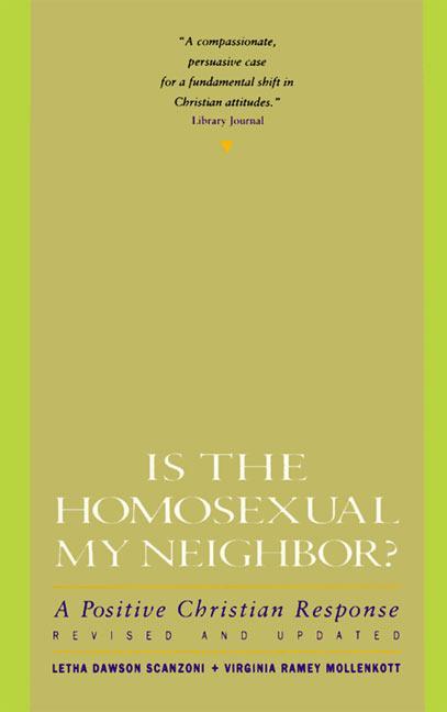 Is the Homosexual My Neighbor? als Taschenbuch