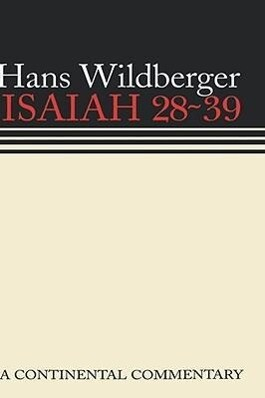 Isaiah 28 39 Continental Comme als Buch