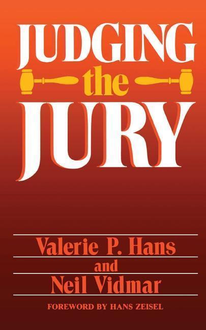 Judging the Jury als Taschenbuch