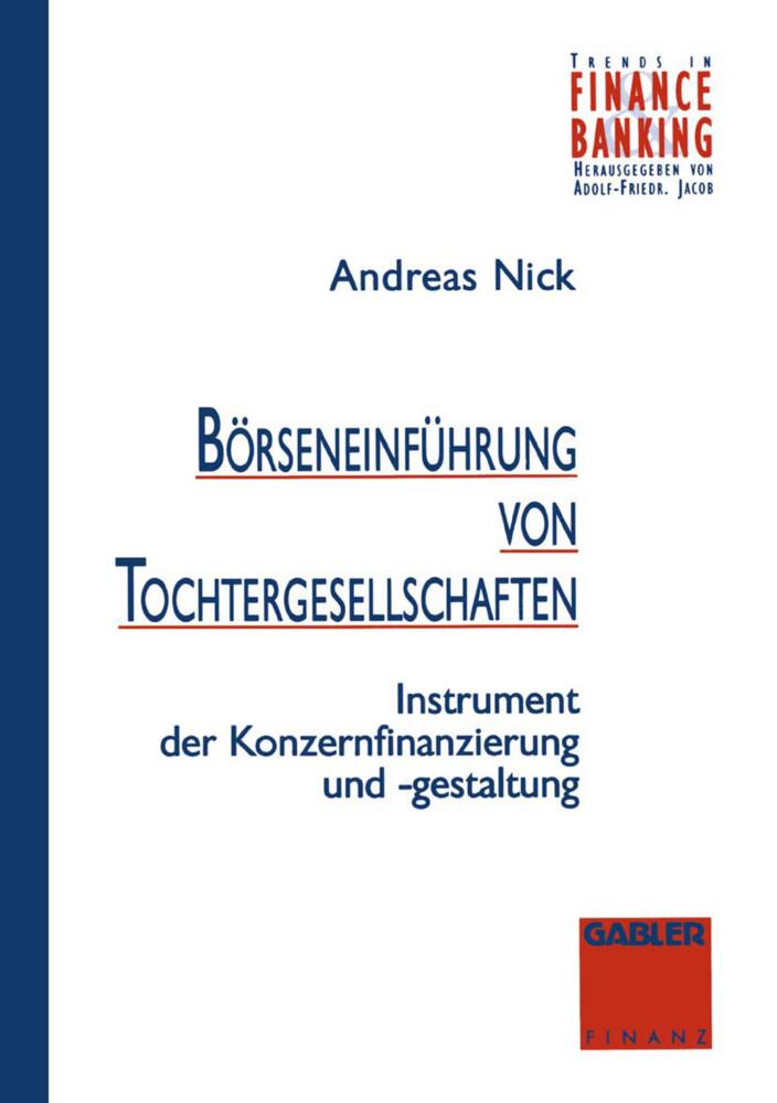 Börseneinführung von Tochtergesellschaften als Buch