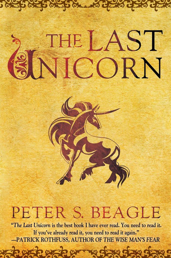 The Last Unicorn als Buch