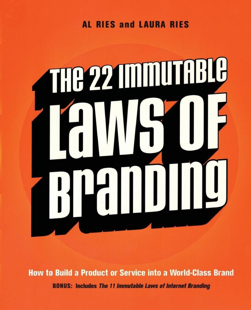 22 Immutable Laws of Branding, The als Buch