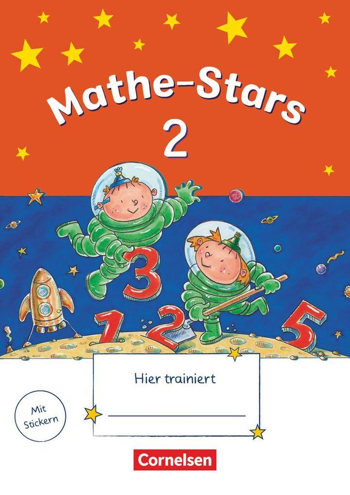 Mathe-Stars 2. Schuljahr. Übungsheft mit Lösungsheft als Buch